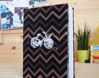 Notebook with lined sheets and little pictures
