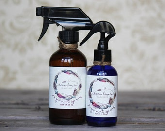 Yoga Mat Spray - Yoga Spray - Yoga Accessories - Yoga Mat Cleaner - Natural Disinfectant - Essential Oil Spray - Aromatherapy Spray