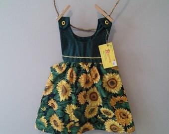 Sunflower Bean Toddler Dress