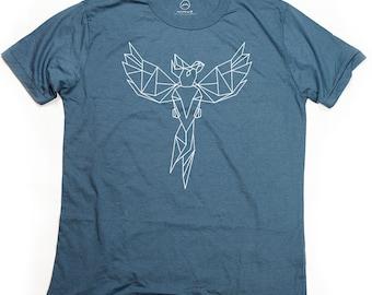 Ninus - Parrot, Hand-printed Bamboo Men's T-Shirt
