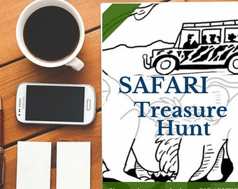 Safari Treasure Hunt Game Pack