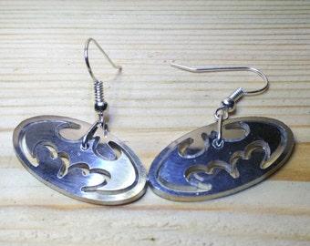 Earrings Batman double
