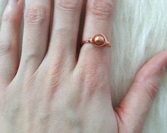 """Ring """"Rosé gold"""""""