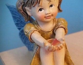 Fairy Child, wearing Yellow