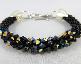 Kumihimo Swarovski Crystal Bracelets