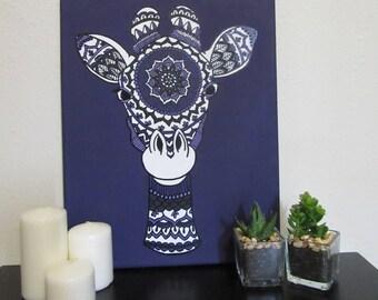 Giraffe Canvas