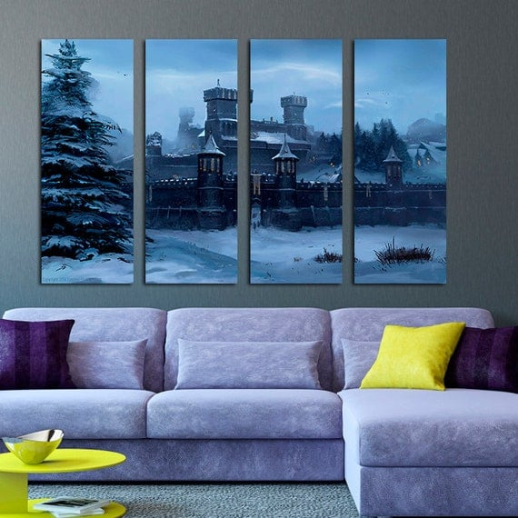 House Stark Winterfell Castle Game Of Thrones Home