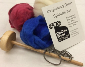 Beginning Drop Spindle Kit