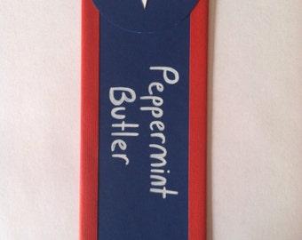 Peppermint Butler Bookmark