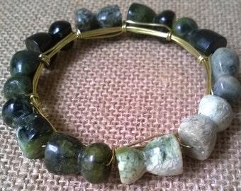 Serpentine Bangle Bracelet