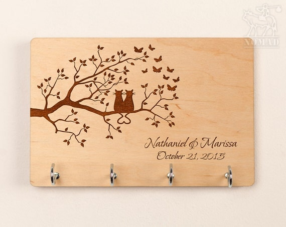 Items Similar To Personalized Key Holder Wall Key Holder