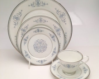 22 Piece Set of Mid Century China by Oxford China, Division of Lenox, Bryn Mawr Pattern, ca 1963-1987