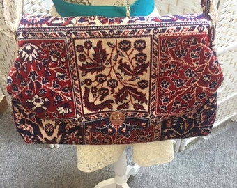 Hand Crafted Carpet Bag