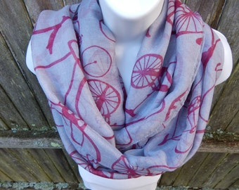 Bicycle Infinity Scarf
