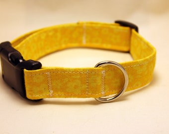 Yellow Flower Collar