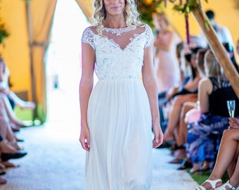 White Meadow Bridal, One of a Kind wedding dress