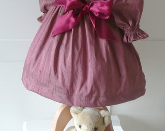 Party/Special Occasion Dress for your little Princess in vintage rose silk. 6-12mths, 12-18mths,  2-3yrs or 3-4yrs to order.