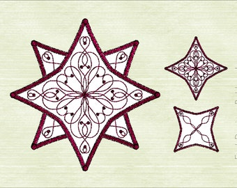 Star Quilt Embroidery Design : Quilting Machine Embroidery Designs. Quilt design. Quilting