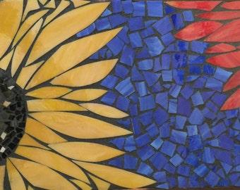 Sunflowers Reaching Across the Sky