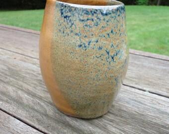 "4.75"" Handmade Ceramic Vase - Stoneware"