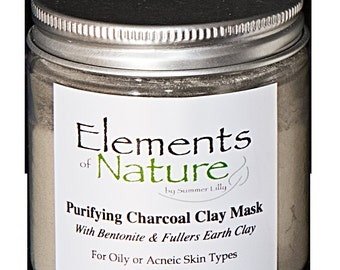 Purifying Charcoal Clay Mask