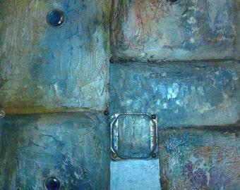 Metal Azul