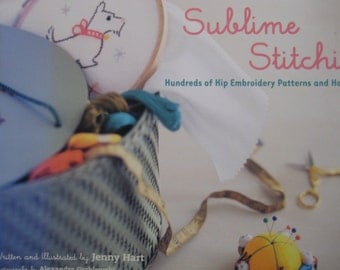 Sublime Stitching - Hundreds of Hip Embroidery Patters