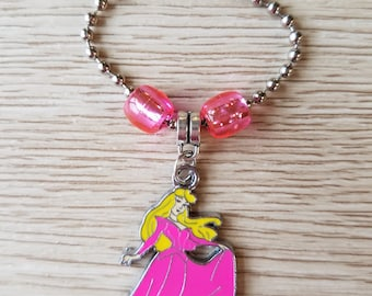 8 Pieces - Sleeping Beauty Zipper Pull Party Favor