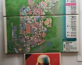 Disney's Hollywood Studios Map - 5 Coasters