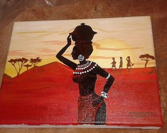 Sahara Painting Canvas