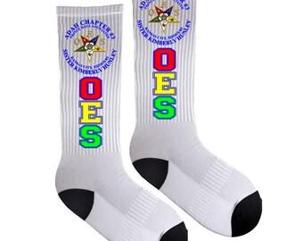Personalized / Custom Socks, Order of Eastern Star