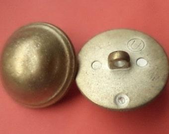 8 buttons brass 24mm (5551) button jacket buttons