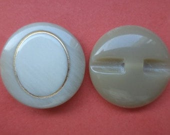 8 buttons 23mm gray (5149) button