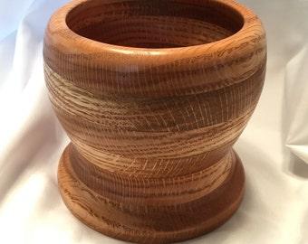 Hand Turned Oak Bowl