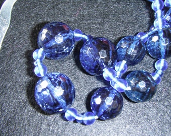 Blue beads Necklace (23)