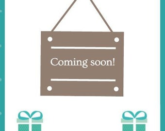 Coming soon - beautiful nappy cakes & baby gifts!
