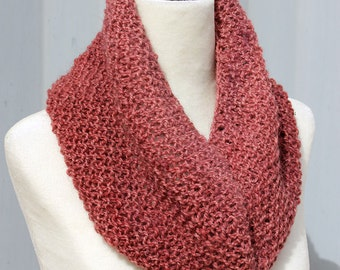 Knitted Ombre Alpaca Cowl
