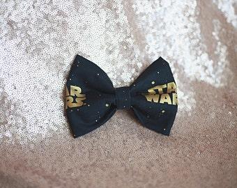 Star Wars Bow//Star Wars Fabric Bow