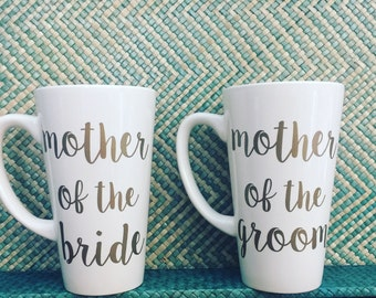 Mother of the Bride Gift-Mother of the Groom Gift-Mother of the Bride Coffee Mug-Mother of the Groom Coffee Mug-Parents of the Bride Gift