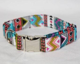 Aztec Dog Collar - Small