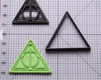 Harry Potter Deathly Hallows Cookie Cutter