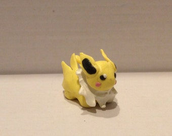 Polymer clay Jolteon figurine