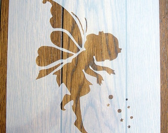 Fairy Dust Stencil Mask Reusable Mylar Sheet for Arts & Crafts