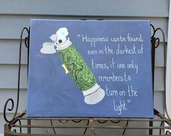 Dumbledore Deluminator Painting