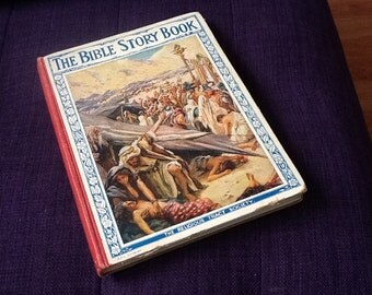 The Bible Story Book (pre 1935)  with 16 illustrations by Harold Copping