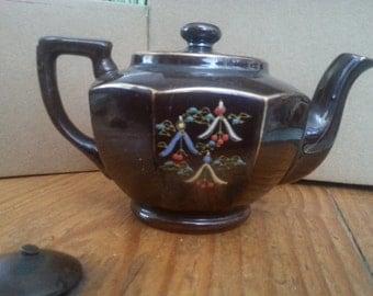 Vintage Japanese Moriage Tea Pot