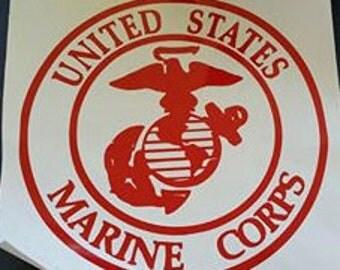 United States Marine Corp Red