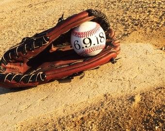 Baseball Save the Date | Save the Date | Baseball Decoration | Baseball Wedding | Save the Date Prop | Engagement Prop | Sports Wedding