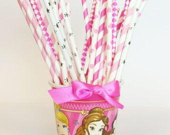Princess Party Straw