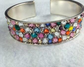 Swarovski Crystal Bangle Bracelet